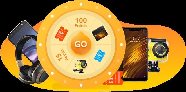 Puncte discount bonus pentru un cupon de puncte banggood cupoane Banggood  punctele banggood