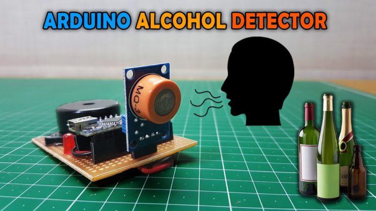 crisstel.ro Arduino Leonardo alchool meter alcoolmetru