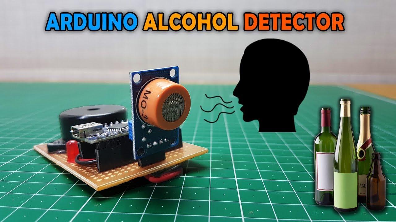 Arduino Leonardo alchool meter alcoolmetru