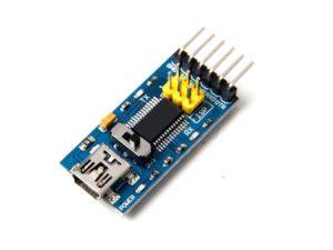 crisstel.ro Conector FTDI arduino Ethernet modul FTDI
