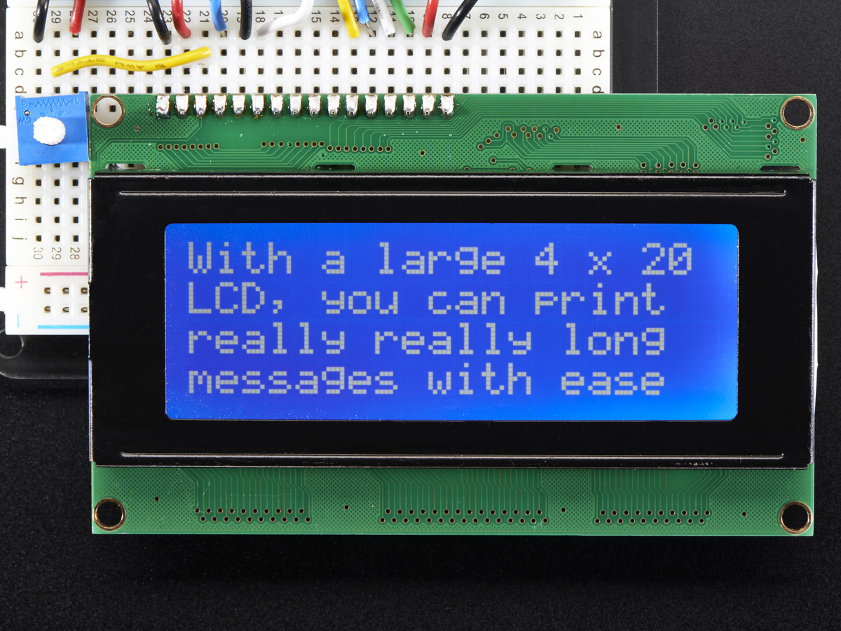 Raspberry PI și LCD Shield 20x4