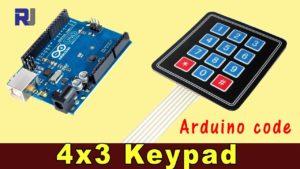 crisstel.ro Arduino și tastatura numerică link conecteaza