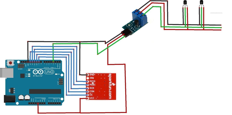 crisstel.ro Realizarea unui sistem de tip Home Automation automatizare control comanda senzori controller