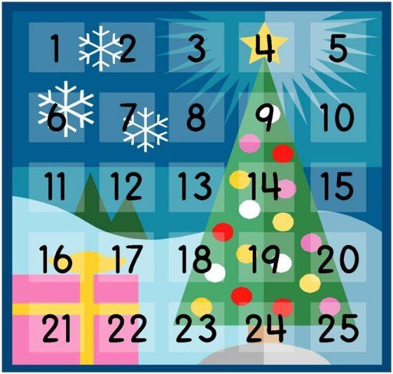 crisstel.ro Calendar de Crăciun Calendarul de Advent 24 de LED-uri LED-uri RGB adresabile WS2812 LED-uri NeoPixel WS2812 placa de dezvoltare WiDo microcontroler ATmega32U4 controler WiFi CC3000 controlerul WiFi sincronizare de timp de tip NTP alimentare de 5V