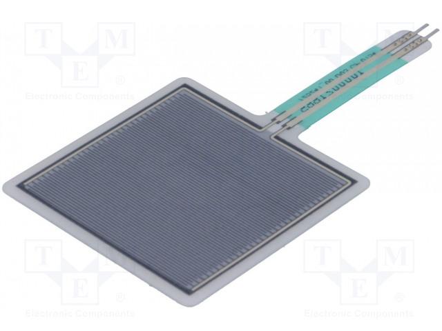 crisstel.ro Senzori de Apăsare Senzorii de apăsare oferă o modalitate simplă de a sesiza forța care acționează asupra lui un astfel de senzor poate fi văzut ca un potențiometru rezistiv care își schimbă valoarea proporțional cu forța care este aplicata asupra lui Pentru a-l utiliza împreuna cu Arduino cea mai simpla abordare este să-l conectam în serie cu un rezistor de 10K și să folosim principiul divizorului de tensiune pentru a citi căderea de tensiune pe rezistorul de 10K Senzorul este capabil de o precizie de aproximativ 10 % lucru pe care trebuie sa-l iei în considerare daca vrei să construiești un cântar de farmacie Senzor de Atingere HotPot Senzorii de atingere determina punctul în care sunt apăsați cu degetul senzorul se comporta ca un rezistor variabil care își modifica rezistenta în funcție de punctul în care este apăsat