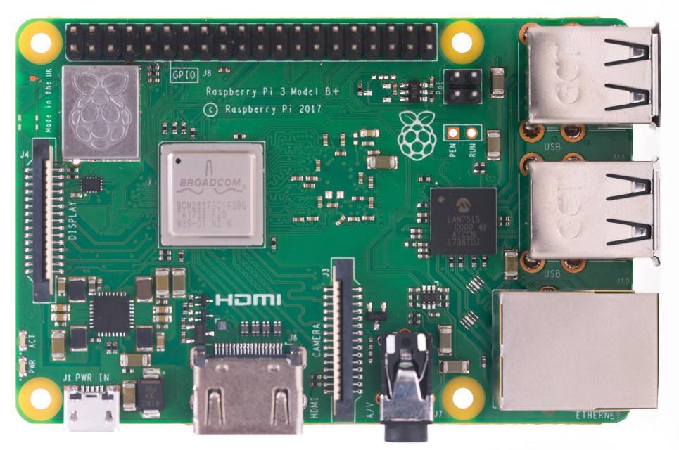 Raspberry Pi placă de dezvoltare de tip SBC Single Board Computer sistem de calcul nemodular dimensiuni reduse, aplicații utilizator, jocuri, editoare de text, medii de programare, redarea de muzică și filme, aplicații de teleconferință, aplicații Internet, NetBook, embedded, senzori, butoane, ecrane LCD sau pe 7 segmente, drivere de motoare, relee, periferice integrate,