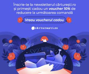 Cărturești.ro recompensează pe cei care se abonează la newsletter cu-10% la următoarea comanda