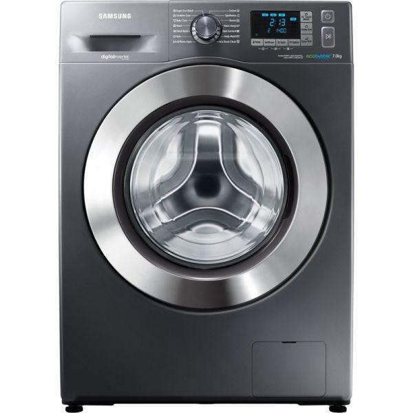 Masina de spalat Samsung Eco Bubble WF70F5E5U4X/LE, 1400 RPM, 7Kg, Clasa A+++ (Inox)