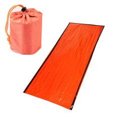 Outdoor PE Reusable Emergency Sleeping Bag Thermal Waterproof Camping Survival Blanket