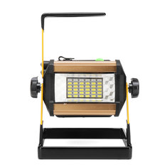 50W 24 LED Work Light Spotlight IP65 Waterproof 3 Modes Flood Lamp Outdoor Camping Emergency Lantern