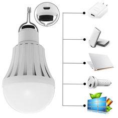 5W 7W 9W 15W 30W Portable Work Lamp Led Bulb Solar Panels USB Emergency Lamps Camp Tent Fishing Light