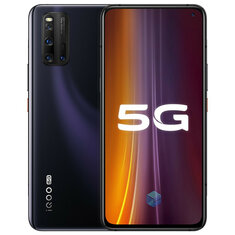 Vivo iQOO 3 5G CN Version 6.44 inch FHD+ 180Hz Touch Sensing HDR10+ NFC 4440mAh 48MP Quad Rear Cameras 8GB 128GB Snapdragon 865 Smartphone