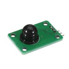 5pcs Human Body Infrared Sensor Module D203S Sensor Pyroelectric Probe Sensor Switch 13120F Black Lens