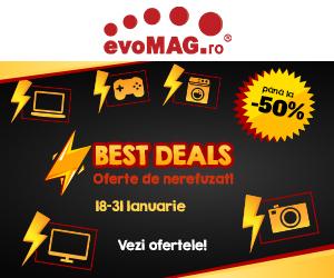 evomag.ro – Best Deals cu REDUCERI de pana la 50%