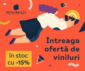 Cărturești – Întreaga ofertă de viniluri în stoc cu -15%