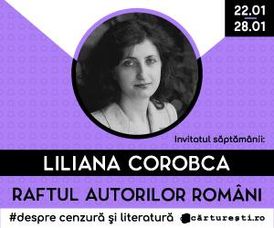 Cărturești – Raftul Autorilor Români : Liliana Corobca