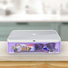 [Wireless Charging] Corfu XD01 UV Ultraviolet Sterilization Box Watch Glasses Jewelry Masks Disinfection Wireless Charging for Mobile Phone