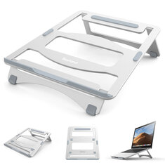Bestand Aluminum Alloy Foldable Height Adjustable Macbook Notebook Laptop Stand Cooler Heat Dissipation For Laptop Under 17 Inches