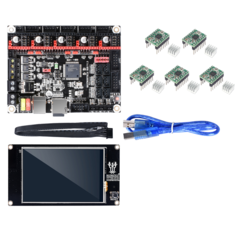 BIGTREETECH SKR V1.3 Controller Board + TFT3.5 Touch Screen + 5Pcs A4988 Stepper Motor Drivers Mainboard Kit for 3D Printer