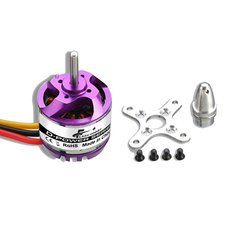 Flash Hobby D2830 750KV 850KV 1000KV 1300KV 2-4S Brushless Motor For RC Airplane