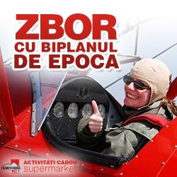 Activitati cadou –  Lectie de zbor cu avionul in Ploiesti
