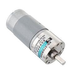 555 Gear Reducer Motor 37GB555 DC 12V 30/50/100RPM Large Torque Reversible Motor