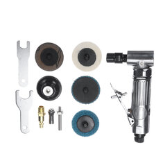 1/4 Inch Air Angle Die Grinder 90 Degree Pneumatic Grinding Machine Mini Tool Cutter