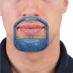 5Pcs/lot Beard Comb Hairbrush Symmetric Cut Salon Mustache B