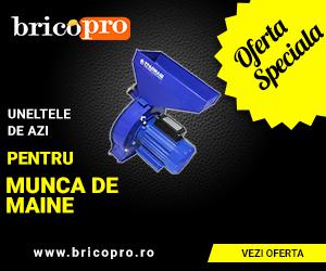 BricoPro – Moară pentru cereale și accesorii – reduceri de până la 15%