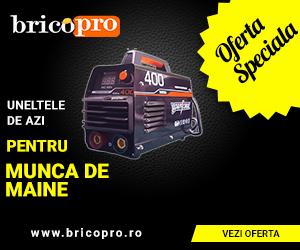 BricoPro – Aparate de sudură- reduceri de până la 20%