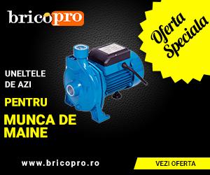 BricoPro – Pompe de apă și accesorii – reduceri de până la 25%