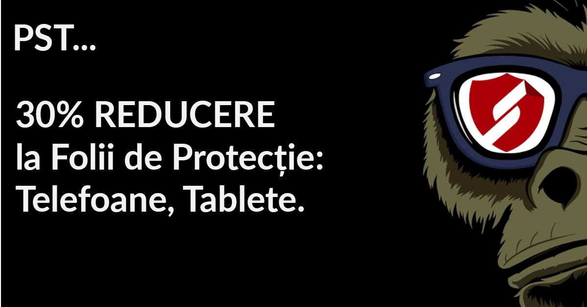 Smartprotection.ro – 30% Reducere la Folii de protecție: Telefoane, Tablete
