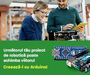 RoboFun – Schimba Viitorul Cu Un Nou Proiect De Robotica – Creează Cu Arduino