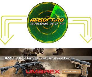 AirSoft – Reduceri de până la 20% la echipamente , arme și accesorii