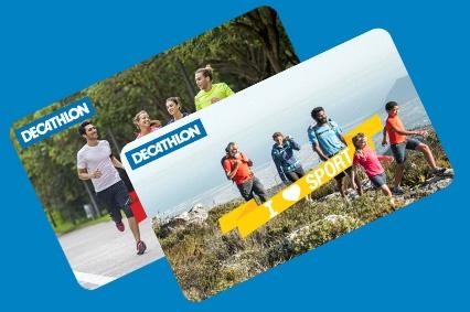 Decathlon – Recompensează și sărbătorește, oferind carduri cadou de la Decathlon, acum și în format electronic!
