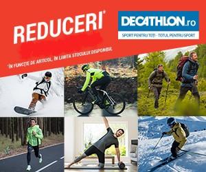 Decathlon – Momentul mult așteptat! – Reduceri de până la 70%