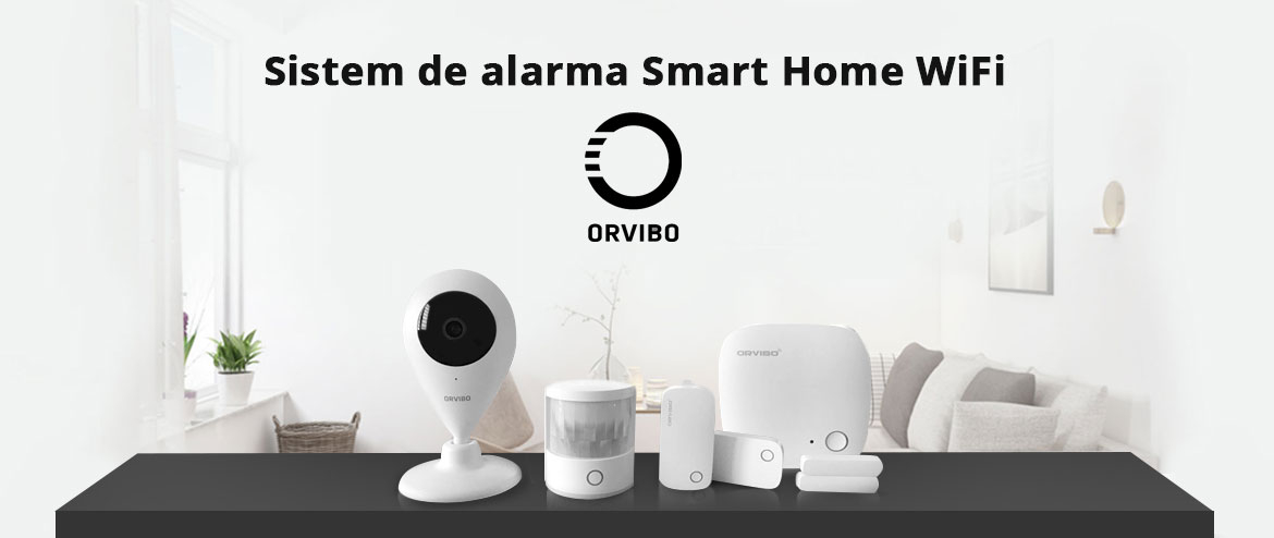 spy-shop.ro – Reducere 10% la Sistem de alarma smart home WiFi Orvibo
