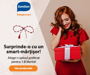 EuroGsm – Surprinde-o cu un Smart Mărțișor! 🌺