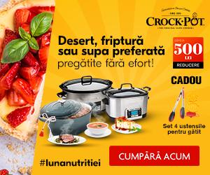 Desert, friptură sau supa preferată fără efort cu Crock-Pot!