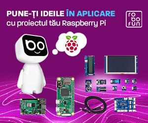 RoboFun – Transformă-ți ideile în realitate cu Raspberry Pi