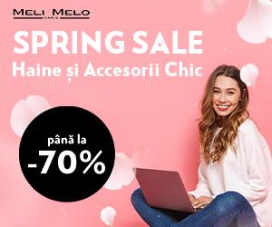 Meli Melo – Spring Sale – pana la 70% REDUCERE