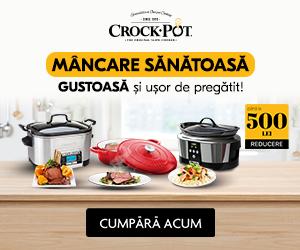 CrockPot – Mâncare sănătoasă, gustoasă și ușor de pregătit