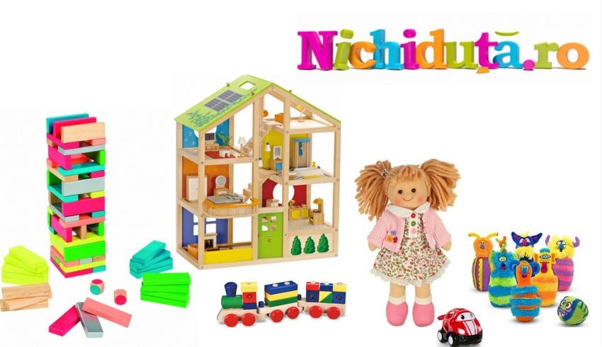 nichiduta magazin jucarii carucioare mobilier mic pentru copii