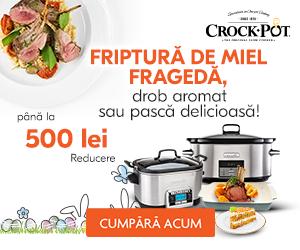 Crock- Pot – Prepara o friptura frageda de miel la Crock-Pot!
