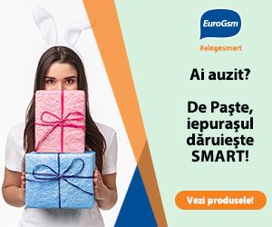 EuroGSM – Ai auzit? De Paște, iepurașul dăruiește SMART!