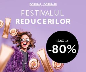 Meli Melo – Festivalul Reducerilor – pana la 80%
