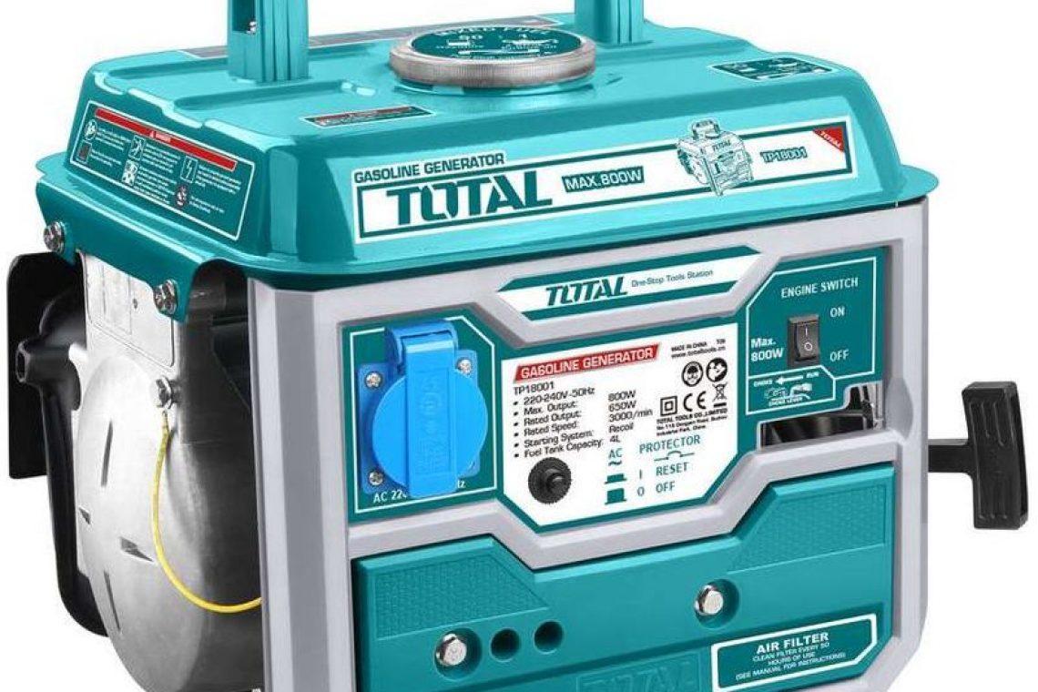 crisstel.ro GENERATOR DE CURENT ELECTRIC PE BENZINA TOTAL TP18001, 800W