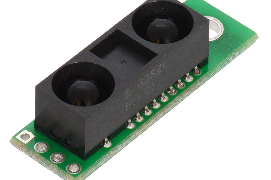 crisstel.ro Senzori distanta Sharp digitali de 5 si 10 cm Senzorii de distanță Sharp de 5 și 10 cm detectează toate obiectele care se afla în raza lor de acțiune (ceea ce înseamna obiectele mai apropiate de 5 respectiv 10 cm de senzor) Senzorii au dimensiuni mici timp de răspuns rapid și consum de energie mic Un senzor Sharp de 5cm Un senzor Sharp de 10cm Nivelele logice sau semnalele generate de către ieșirile celor 2 senzori au tensiuni cuprinse intre 0 și 5V atunci când senzorul detectează un obiect acesta va genera o tensiune scăzuta de aproximativ 0.6V iar atunci când obiectul nu mai este prezent în raza senzorului ieșirea va genera 4.4V