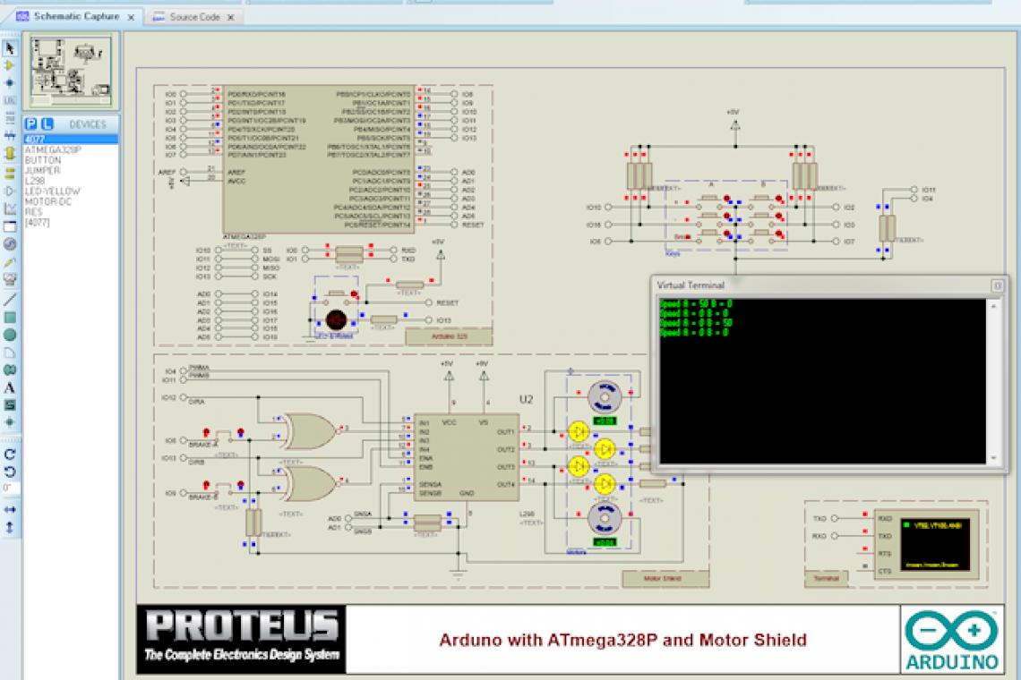 crisstel.ro Simulare Arduino